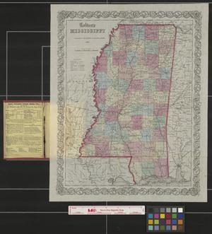 Primary view of object titled 'Colton's Mississippi.'.