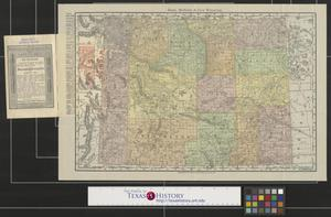 Primary view of object titled 'Rand, McNally & Co.'s Wyoming.'.
