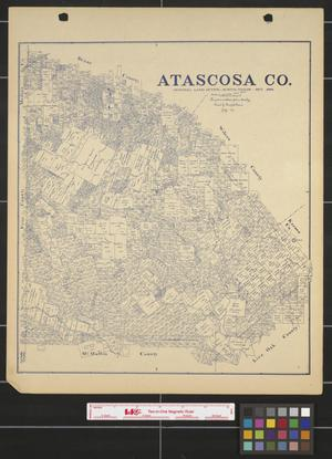 Primary view of object titled 'Atascosa County.'.