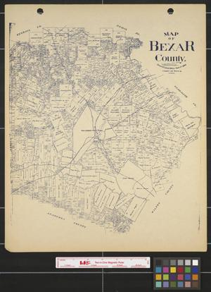 Primary view of object titled 'Bexar County.'.