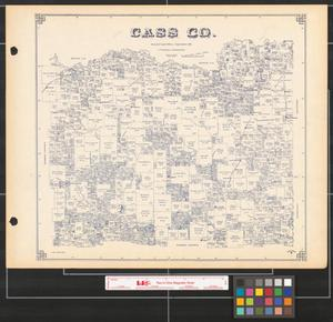 Primary view of object titled 'Cass Co.'.