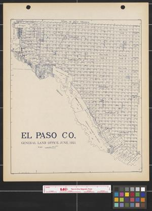 Primary view of object titled 'El Paso Co.'.