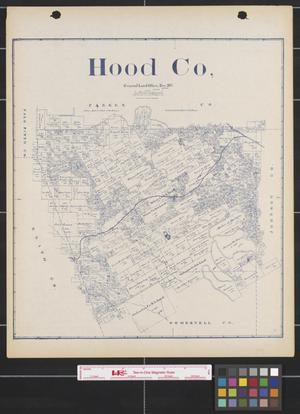 Primary view of object titled 'Hood County'.