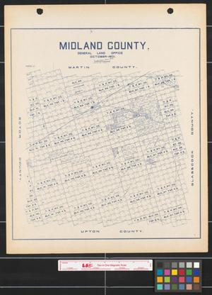 Primary view of object titled 'Midland County.'.