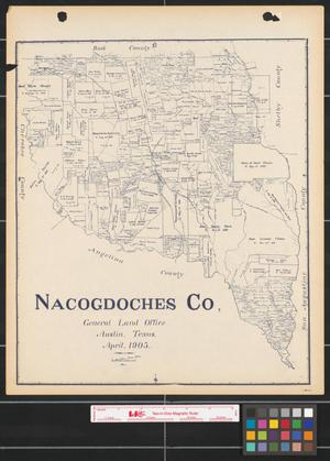 Primary view of object titled 'Nacogdoches Co.'.