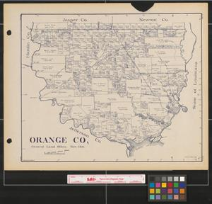 Primary view of object titled 'Orange County'.