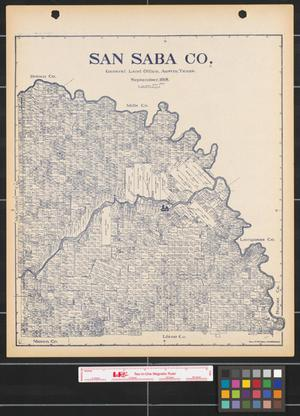 san saba county The central appraisal district of san saba is a political subdivision of the state of texas responsible for the fair market appraisal of properties for the purpose of property tax assessment.