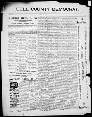 Primary view of object titled 'Bell County Democrat (Belton, Tex.), Vol. 2, No. 44, Ed. 1 Thursday, April 7, 1898'.