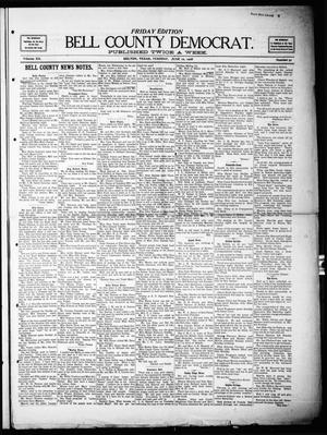 Primary view of object titled 'Bell County Democrat (Belton, Tex.), Vol. 12, No. 51, Ed. 1 Friday, June 12, 1908'.