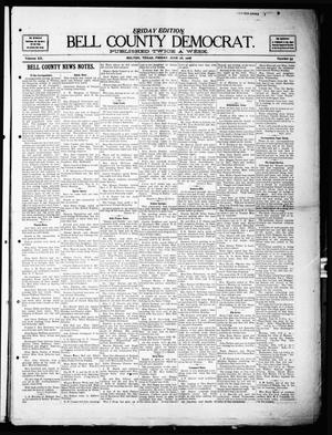 Primary view of object titled 'Bell County Democrat (Belton, Tex.), Vol. 12, No. 55, Ed. 1 Friday, June 26, 1908'.
