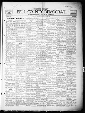 Primary view of object titled 'Bell County Democrat (Belton, Tex.), Vol. 12, No. 56, Ed. 1 Tuesday, June 30, 1908'.