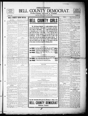 Primary view of object titled 'Bell County Democrat (Belton, Tex.), Vol. 12, No. 59, Ed. 1 Friday, July 10, 1908'.