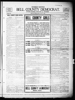 Primary view of object titled 'Bell County Democrat (Belton, Tex.), Vol. 12, No. 60, Ed. 1 Tuesday, July 14, 1908'.