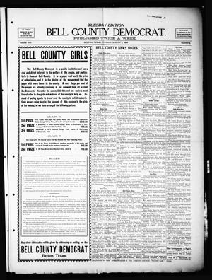 Primary view of object titled 'Bell County Democrat (Belton, Tex.), Vol. 13, No. 5, Ed. 1 Tuesday, August 4, 1908'.