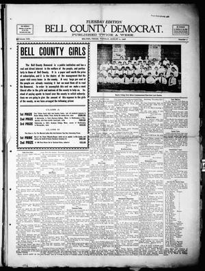 Primary view of object titled 'Bell County Democrat (Belton, Tex.), Vol. 13, No. 7, Ed. 1 Tuesday, August 11, 1908'.