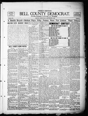 Primary view of object titled 'Bell County Democrat (Belton, Tex.), Vol. 13, No. 14, Ed. 1 Friday, September 4, 1908'.