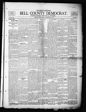 Primary view of object titled 'Bell County Democrat (Belton, Tex.), Vol. 13, No. 15, Ed. 1 Tuesday, September 8, 1908'.