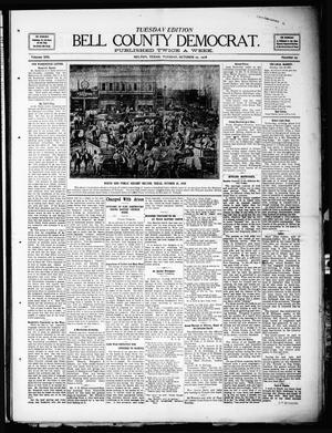 Primary view of object titled 'Bell County Democrat (Belton, Tex.), Vol. 13, No. 29, Ed. 1 Tuesday, October 27, 1908'.