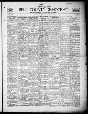 Primary view of object titled 'Bell County Democrat (Belton, Tex.), Vol. 13, No. 43, Ed. 1 Tuesday, December 15, 1908'.