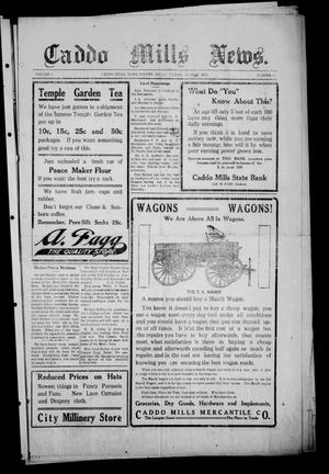 Primary view of object titled 'Caddo Mills News. (Caddo Mills, Tex.), Vol. 4, No. 31, Ed. 1 Friday, June 27, 1913'.