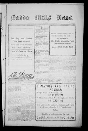 Primary view of object titled 'Caddo Mills News. (Caddo Mills, Tex.), Vol. 6, No. 11, Ed. 1 Friday, February 12, 1915'.