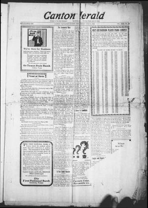 Primary view of object titled 'Canton Herald (Canton, Tex.), Vol. 31, No. 50, Ed. 1 Wednesday, June 11, 1913'.