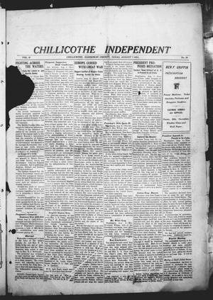 Chillicothe Independent (Chillicothe, Tex.), Vol. 11, No. 30, Ed. 1 Friday, August 7, 1914
