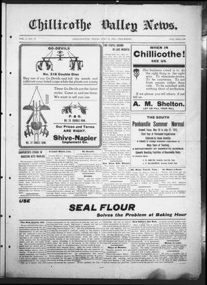 Primary view of object titled 'Chillicothe Valley News (Chillicothe, Tex.), Vol. 6, No. 12, Ed. 1 Thursday, May 22, 1913'.
