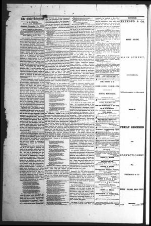 Primary view of object titled 'Houston Tri-Weekly Telegraph (Houston, Tex.), Vol. 31, No. 111, Ed. 1 Friday, November 17, 1865'.