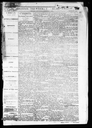 Primary view of object titled 'Houston Tri-Weekly Telegraph (Houston, Tex.), Vol. 31, No. 127, Ed. 1 Wednesday, December 27, 1865'.