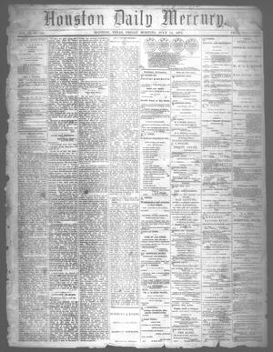 Primary view of object titled 'Houston Daily Mercury (Houston, Tex.), Vol. 5, No. 264, Ed. 1 Friday, July 11, 1873'.
