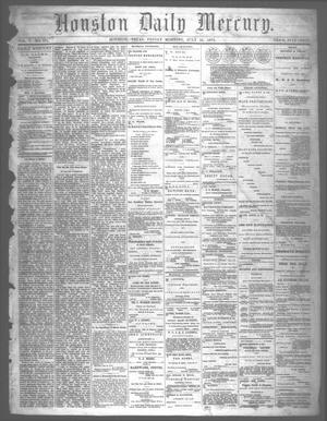 Primary view of object titled 'Houston Daily Mercury (Houston, Tex.), Vol. 5, No. 275, Ed. 1 Friday, July 25, 1873'.