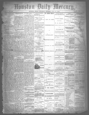 Primary view of object titled 'Houston Daily Mercury (Houston, Tex.), Vol. 5, No. 280, Ed. 1 Thursday, July 31, 1873'.