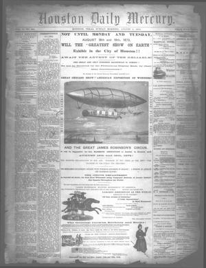 Houston Daily Mercury (Houston, Tex.), Vol. 5, No. 283, Ed. 1 Sunday, August 3, 1873