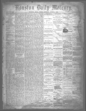 Primary view of object titled 'Houston Daily Mercury (Houston, Tex.), Vol. 5, No. 284, Ed. 1 Tuesday, August 5, 1873'.