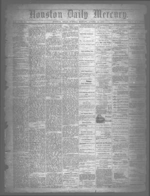Primary view of object titled 'Houston Daily Mercury (Houston, Tex.), Vol. 5, No. 290, Ed. 1 Tuesday, August 12, 1873'.