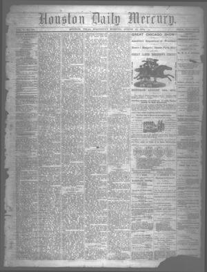 Primary view of object titled 'Houston Daily Mercury (Houston, Tex.), Vol. 5, No. 291, Ed. 1 Wednesday, August 13, 1873'.