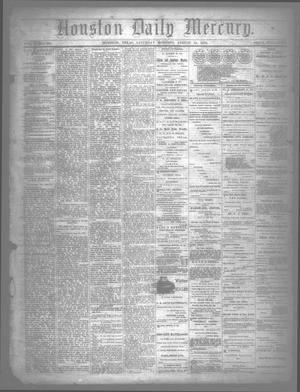 Primary view of object titled 'Houston Daily Mercury (Houston, Tex.), Vol. 5, No. 300, Ed. 1 Saturday, August 23, 1873'.