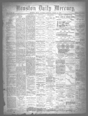 Primary view of object titled 'Houston Daily Mercury (Houston, Tex.), Vol. 5, No. 306, Ed. 1 Saturday, August 30, 1873'.