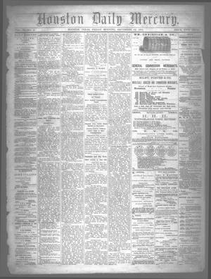 Primary view of object titled 'Houston Daily Mercury (Houston, Tex.), Vol. 6, No. 6, Ed. 1 Friday, September 12, 1873'.