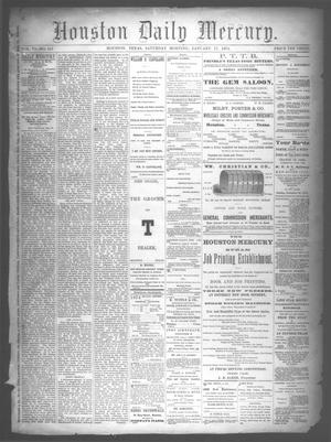 Primary view of object titled 'Houston Daily Mercury (Houston, Tex.), Vol. 6, No. 111, Ed. 1 Saturday, January 17, 1874'.
