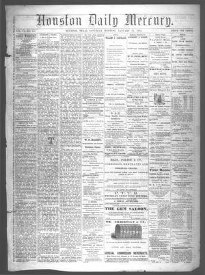 Primary view of object titled 'Houston Daily Mercury (Houston, Tex.), Vol. 6, No. 121, Ed. 1 Saturday, January 31, 1874'.