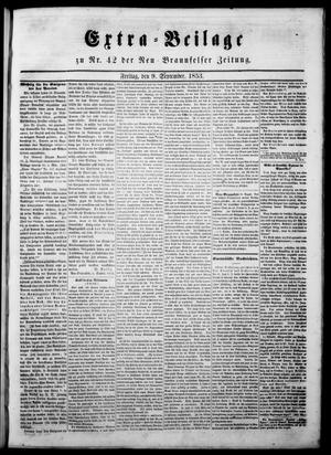 Primary view of object titled 'Neu-Braunfelser Zeitung (New Braunfels, Tex.), Ed. 1 Friday, September 9, 1853'.