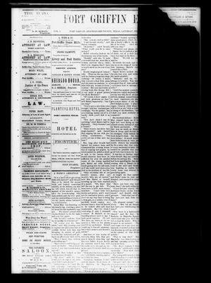 Fort Griffin Echo (Fort Griffin, Tex.), Vol. 1, No. 7, Ed. 1 Saturday, February 15, 1879