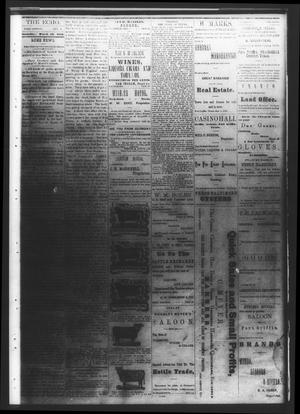 Fort Griffin Echo (Fort Griffin, Tex.), Vol. [1], No. [11], Ed. 1 Saturday, March 15, 1879