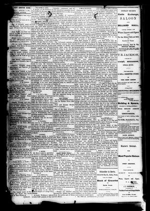 Fort Griffin Echo (Fort Griffin, Tex.), Vol. 1, No. 52, Ed. 1 Saturday, January 3, 1880