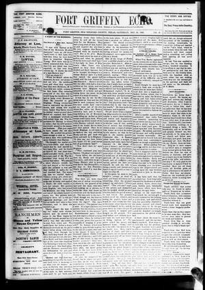 Fort Griffin Echo (Fort Griffin, Tex.), Vol. 3, No. 49, Ed. 1 Saturday, December 31, 1881