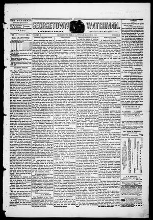 Georgetown Watchman (Georgetown, Tex.), Vol. 3, No. 5, Ed. 1 Saturday, March 27, 1869