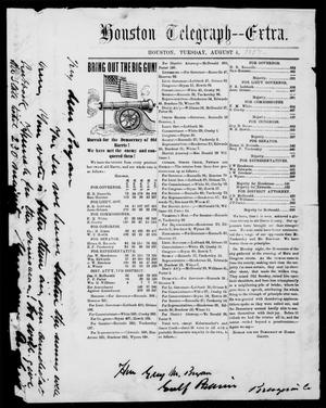 Primary view of object titled 'Houston Telegraph (Houston, Tex.), Ed. 1 Tuesday, August 4, 1857'.