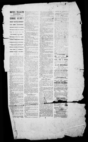 Primary view of object titled 'Houston Telegraph (Houston, Tex.), Ed. 1 Saturday, July 27, 1861'.